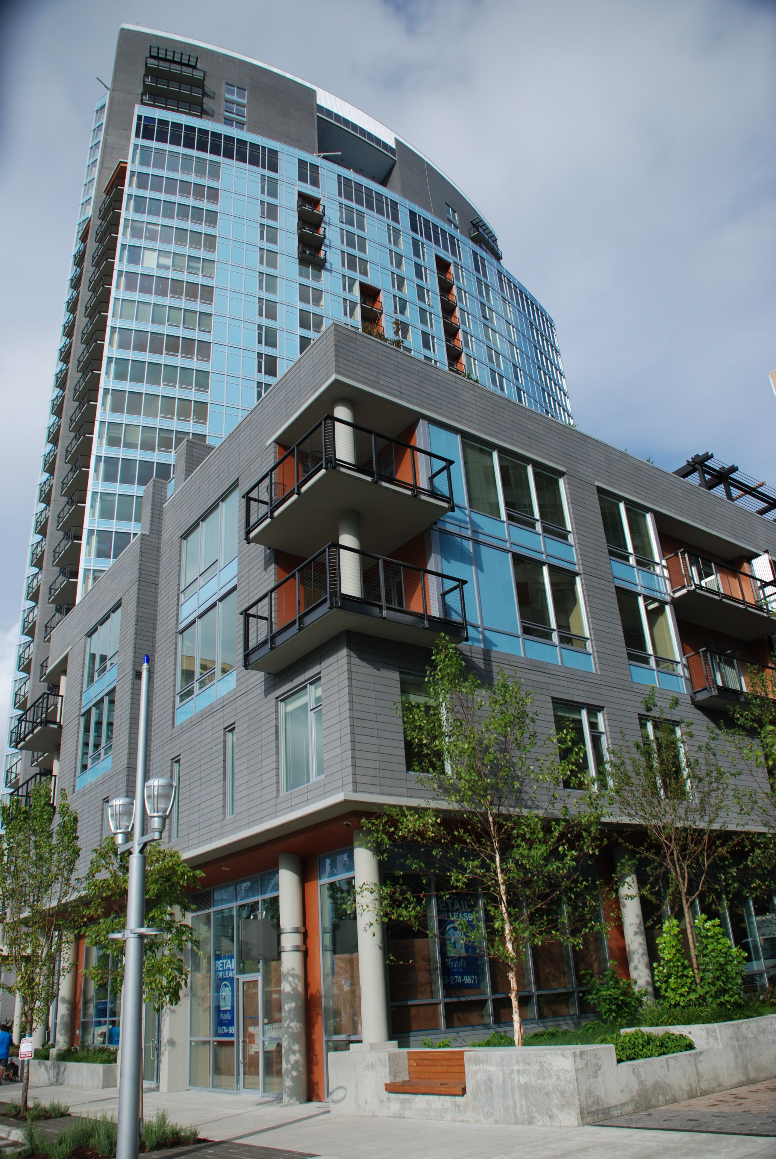 Mirabella Is A 32 Story High Rise Adult Living Project In Portland, OR. This