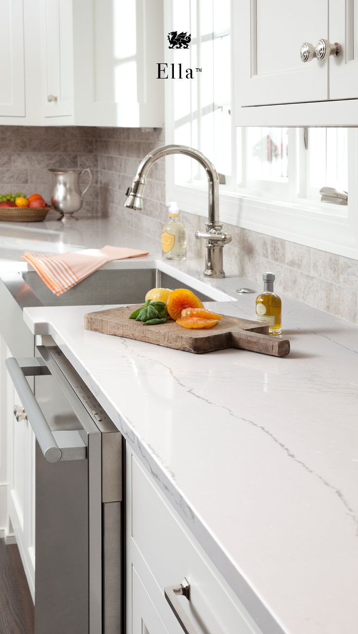 The Look Of Marble Countertops With None Of The Maintenance, Cambria Quartz  Countertops Are Easy