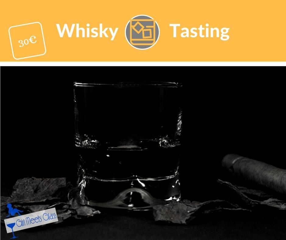 Paris Food & Drink Events: Whisky Tasting at WOS