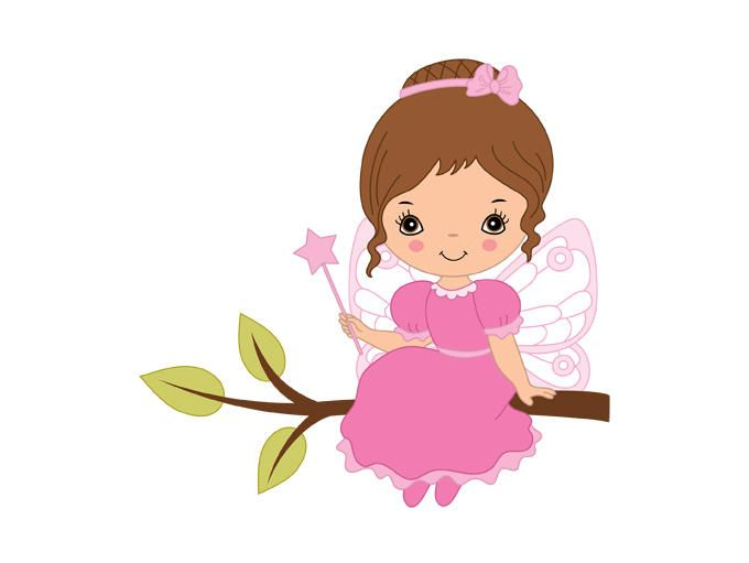 fairy clipart digital vector fairy girl fairytale little girl rh pinterest ie fairy clip art printable fairy clipart free