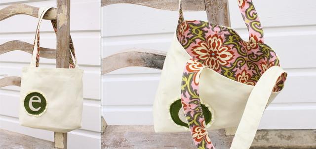 girl's tote bag (dana-made-it.com, made, made blog, dana made it, dana willard)