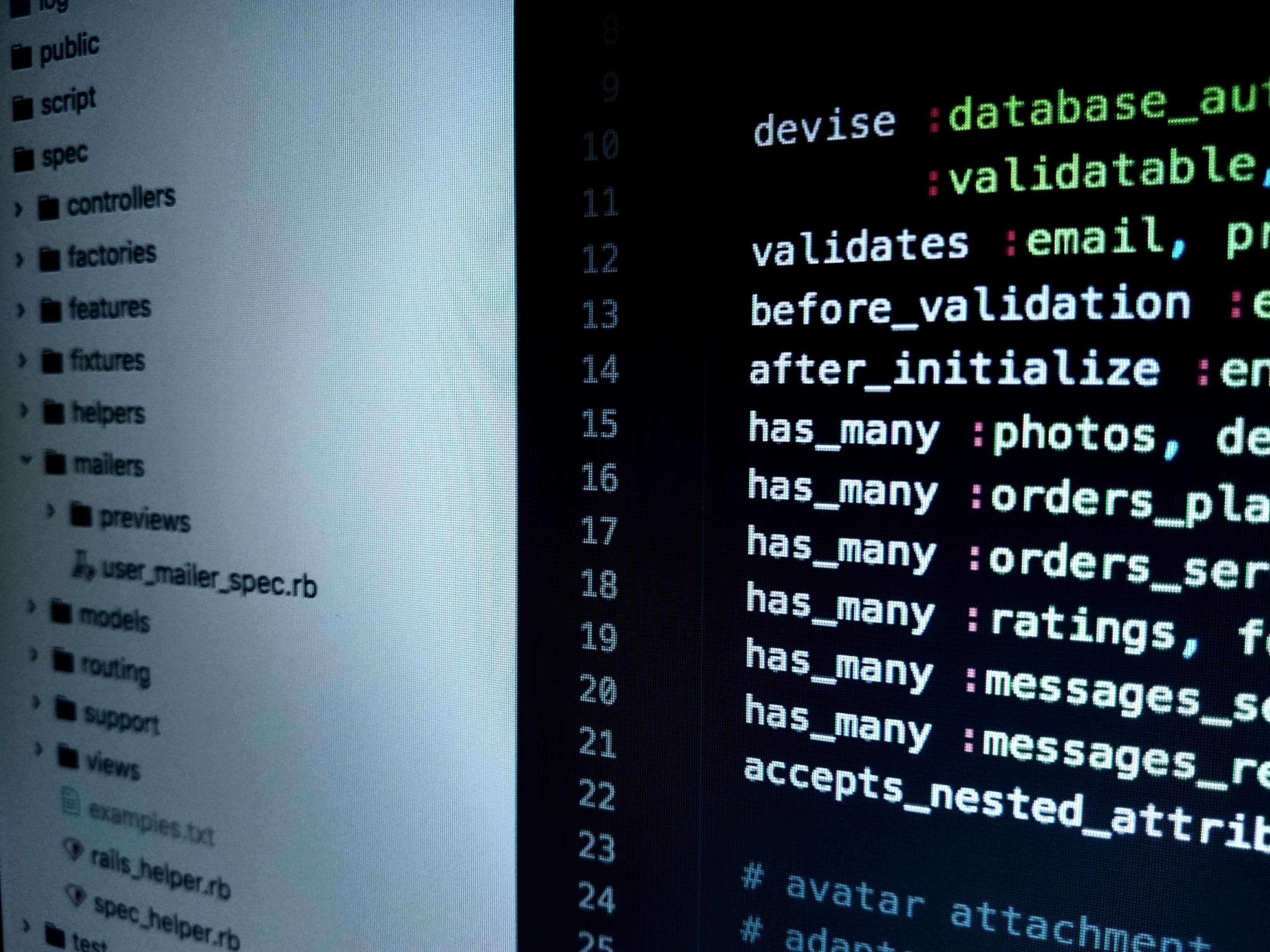 Close Up Code Coding Computer Conceptual Data Developer Development Display Hacking Html Informati Technology Life Marketing Advice Online Business