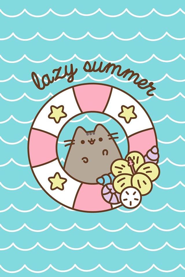 Pusheen Wallpaper Pusheen Pusheen Cute Cute Cat Wallpaper
