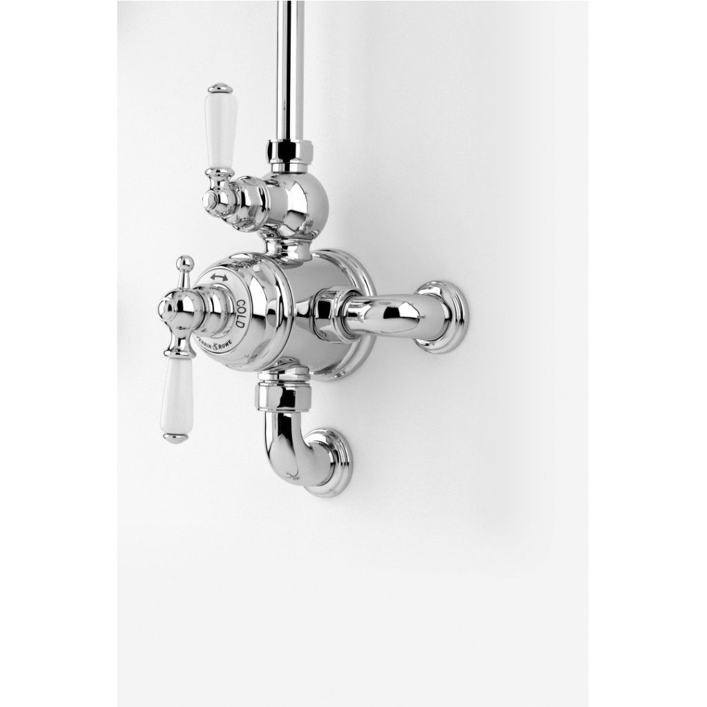 Perrin And Rowe Traditional Exposed Thermostatic Shower Mixer W