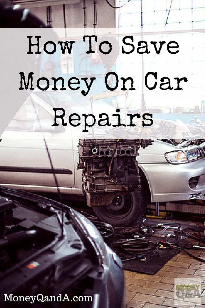 How to save on repairs 30