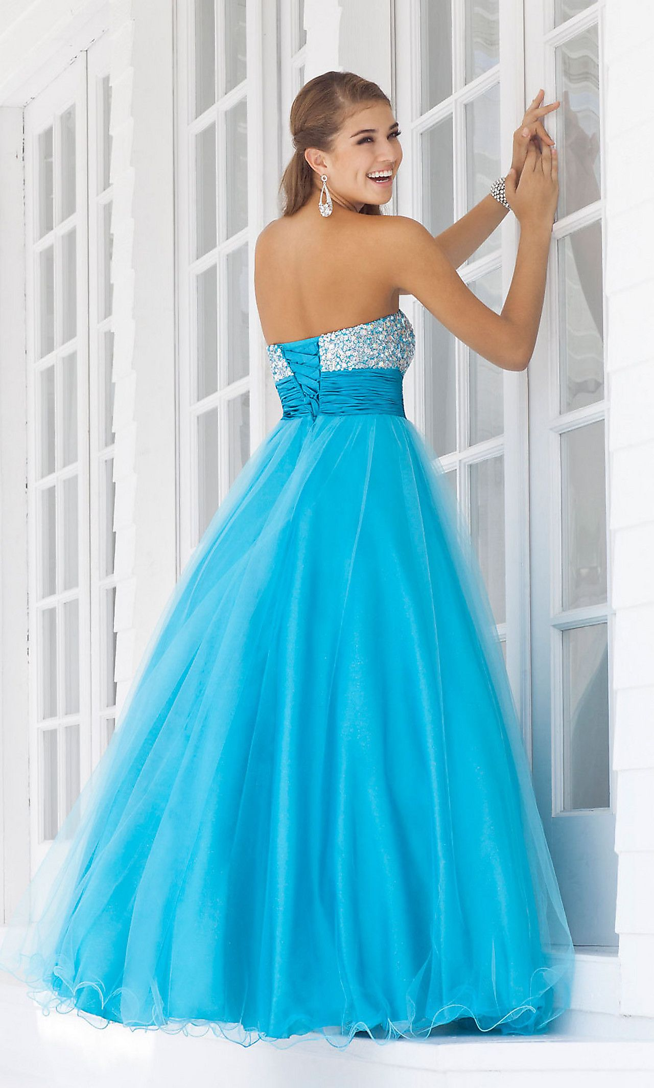 Long sweetheart formal gown by blush bl prom pinterest