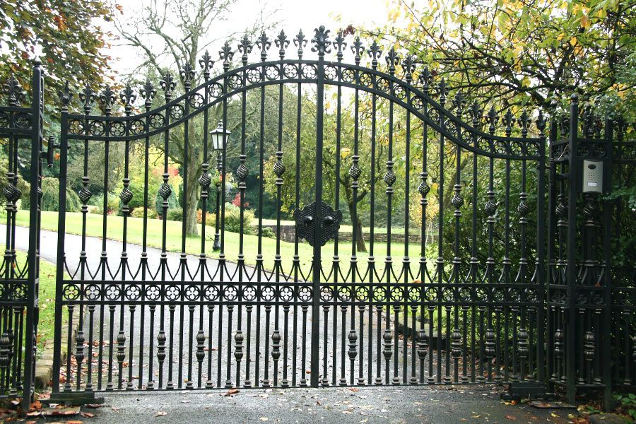 Hambledon Wrought Iron Gates Are Perfect For Any Driveway 0