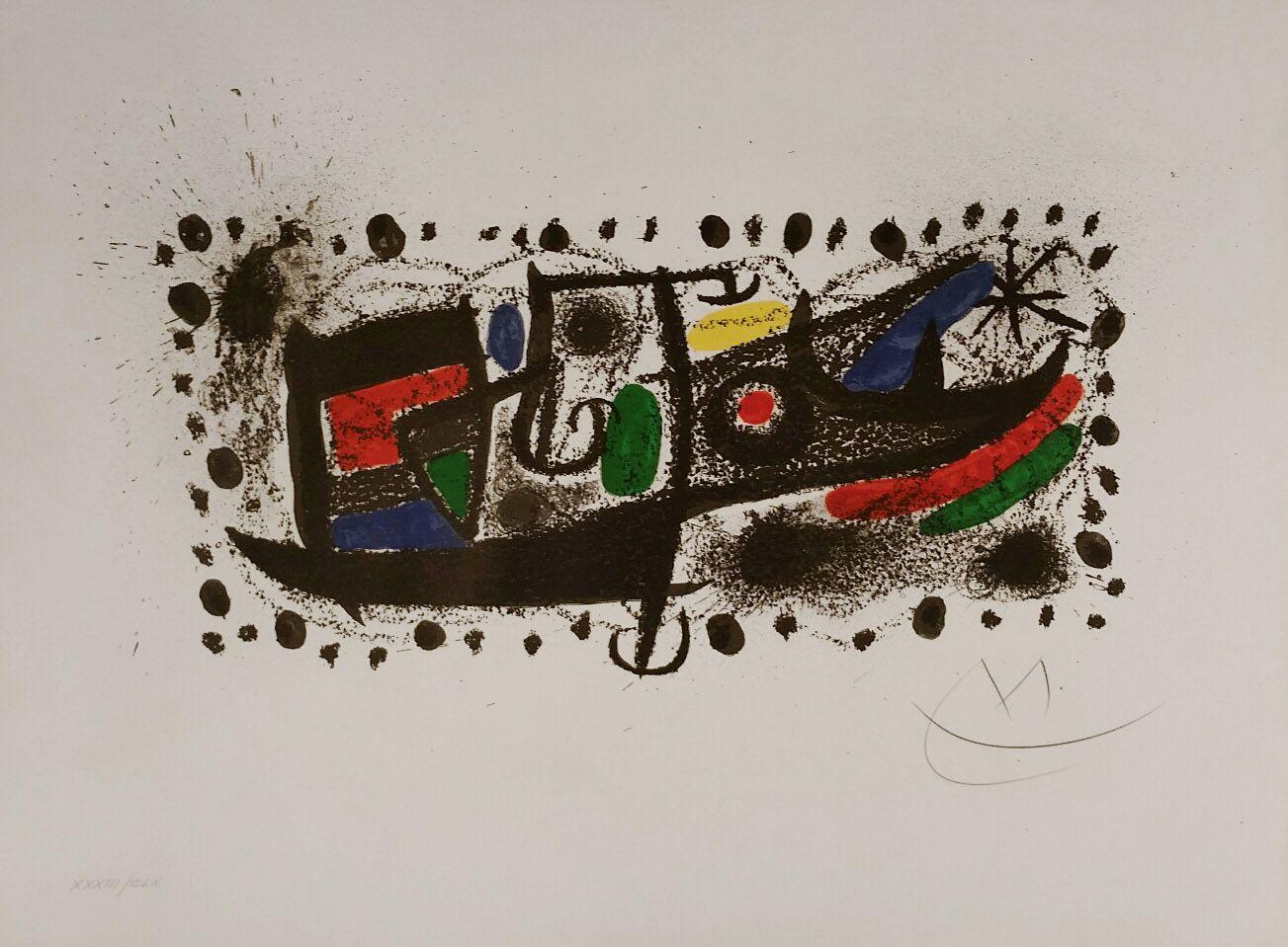 Joan Miró Litografía \