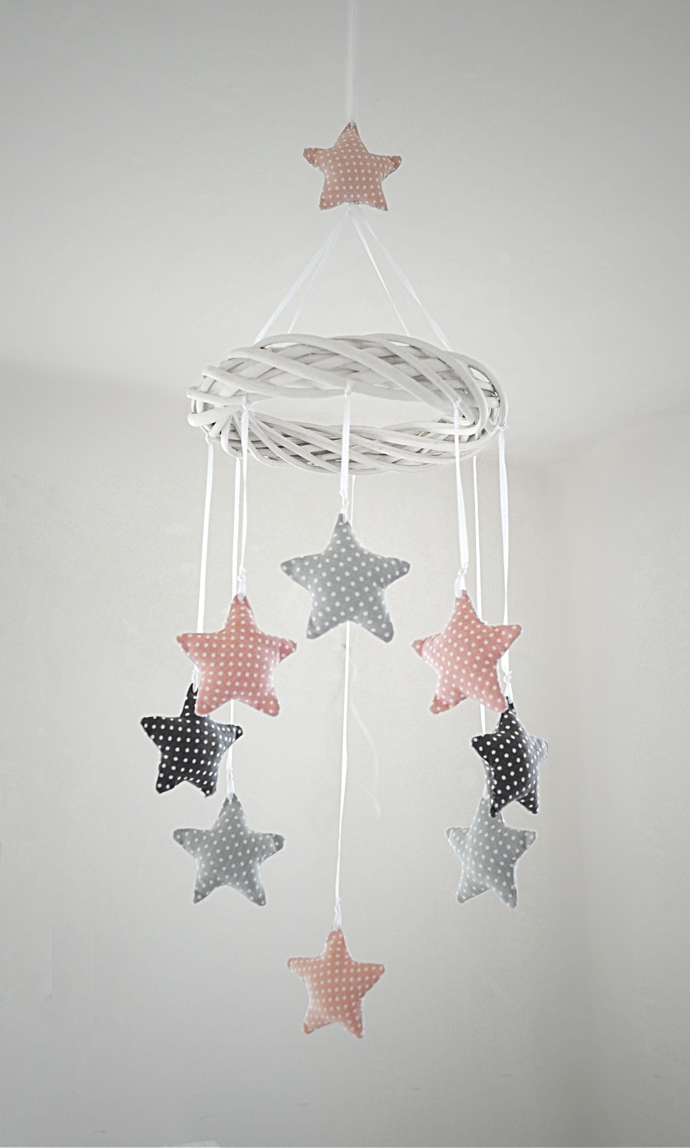 Star kids room decoration. made by Pracownia Lollipop. https://www.facebook.com/PALollipop