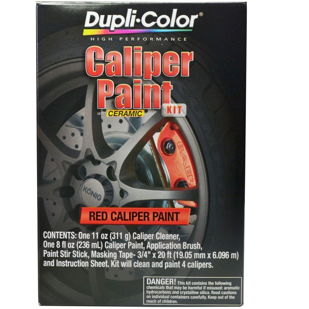 Red Caliper Aerosol Paint DUPLICOLOR BCP400 Brake Caliper
