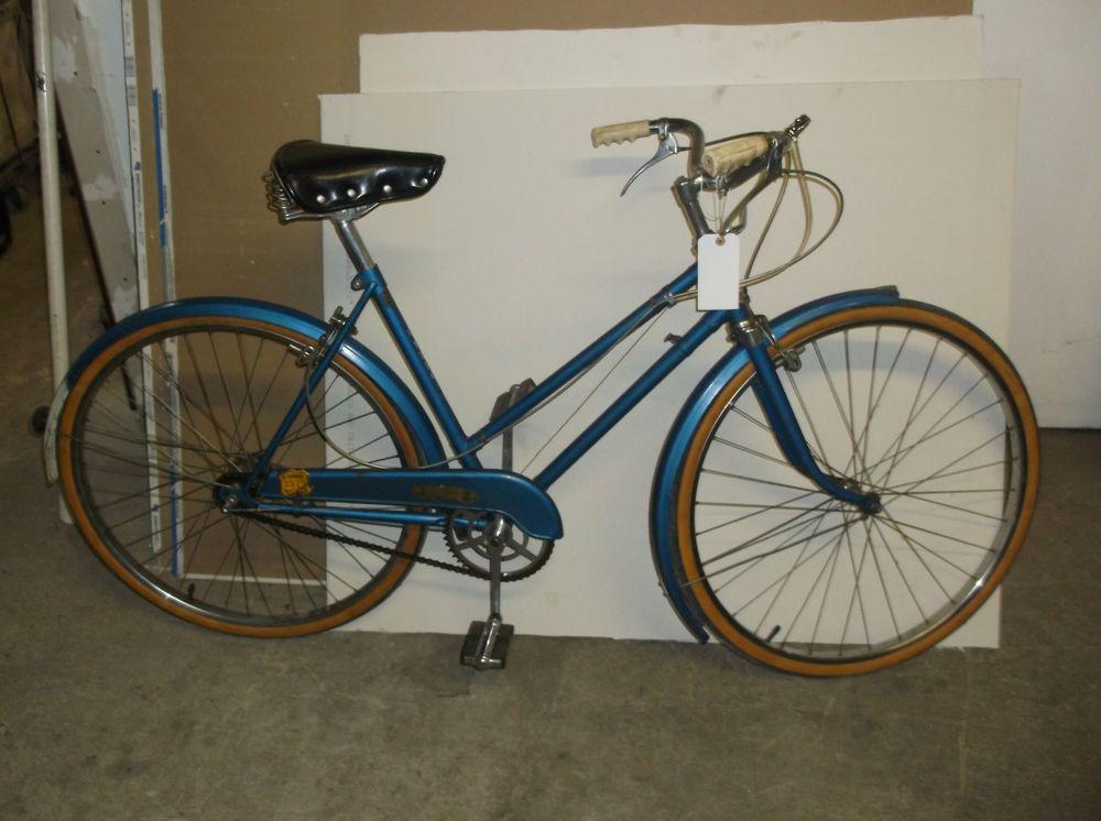 Vintage 1950s Hercules Royal Prince ladies 3speed bike
