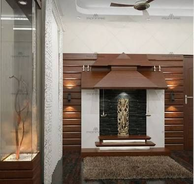 Get Some Ideas On Modern Pooja Room Designs For Your Flats And Apartments.  Here Are Some Stylish Modern Pooja Room Designs That You Can Build In Your  House.