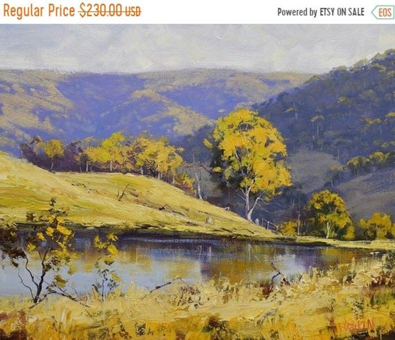 Landscape Paintings Australian Paintings Original Oil Painting Pastoral Painting Australian Landscape Landscape Paintings Landscape Canvas Large Landscape Painting