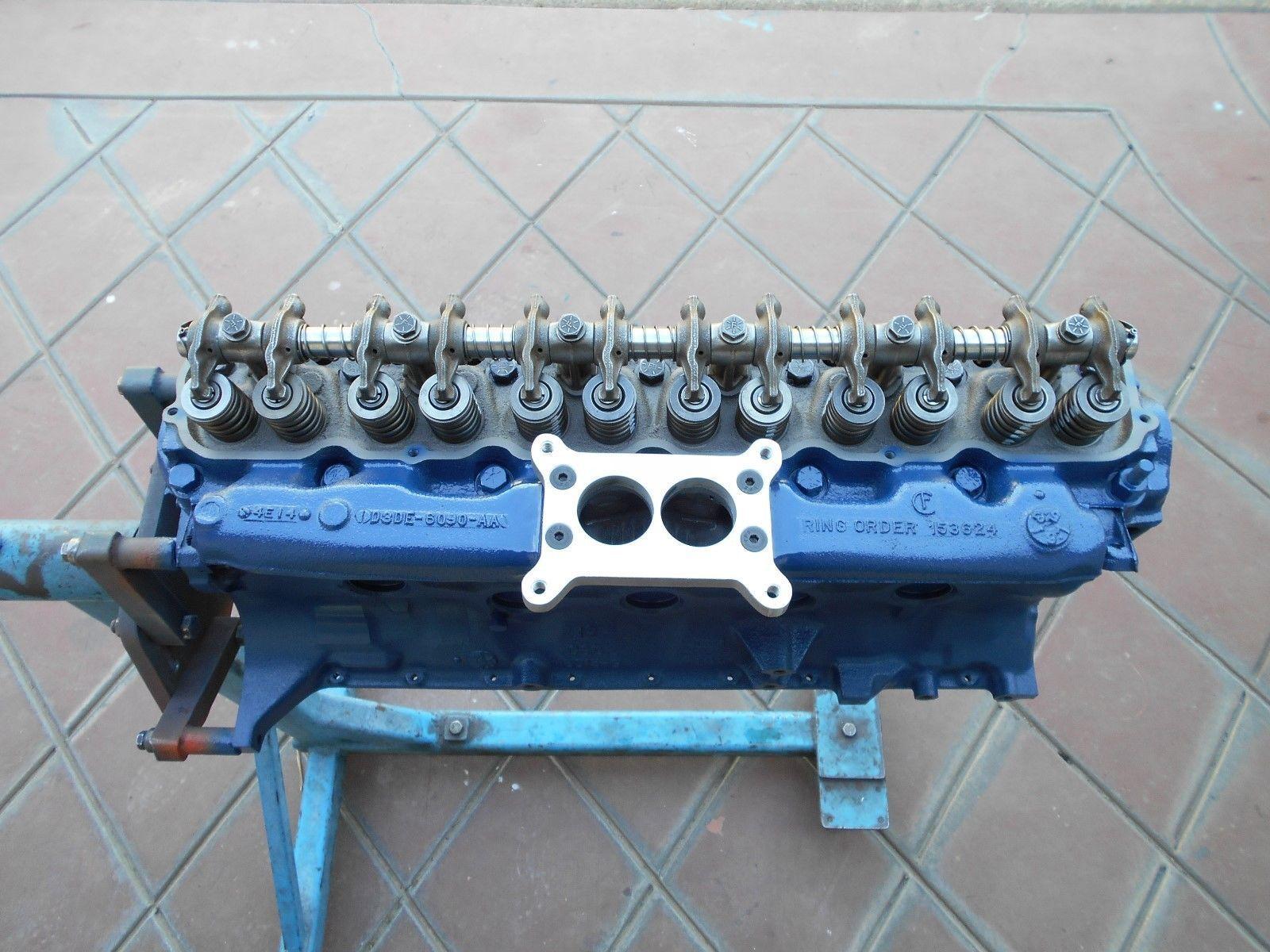 ford 200 falcon mustang bronco rebuilt engine 2v conversion performance mustang 6 cylinder 170. Black Bedroom Furniture Sets. Home Design Ideas