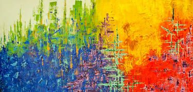 JMM: Limitless Opportunities. Contact me at moyleuta@yahoo.com for direct inquiries! #fineart #homedecor #interiordesign #abstract #abstractart #acrylicpainting #abstractpainting #multicolored #originalart #largepainting