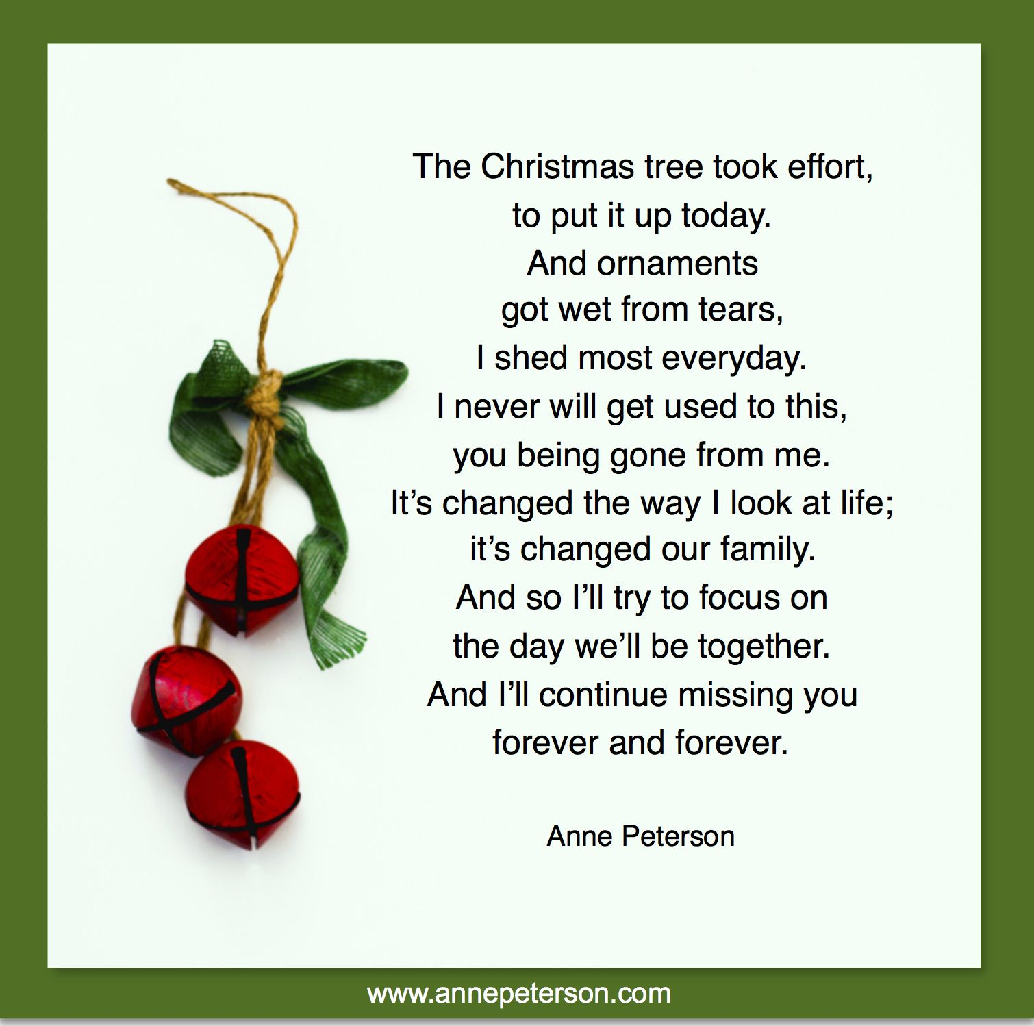 Grief, Missing Loved Ones At Christmas, Loss, Death