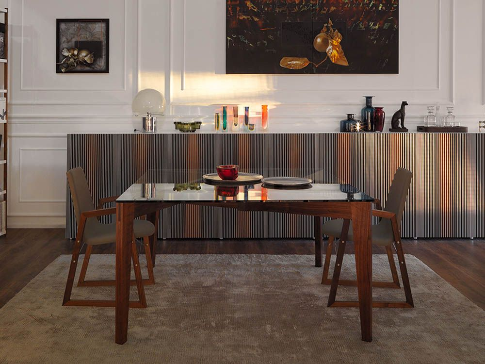 Arm Chair Dining Room Custom Ray Armchair Contemporary Dining Room Design At Cassoni Decorating Inspiration