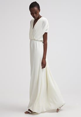 Robe de cocktail blanche zalando