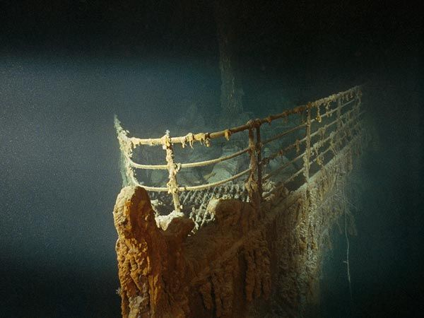 New bacteria found on Titanic; Eats metal