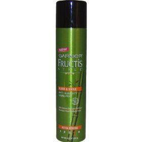 Garnier Fructis Style Sleek And Shine Anti Humidity Hairspray Humidity Hair Spray Humidity Hair Anti Humidity Hair Spray