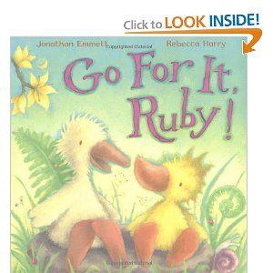Go for it, Ruby!: Jonathan Emmett, Rebecca Harry: 9780230707382: Amazon.com: Books