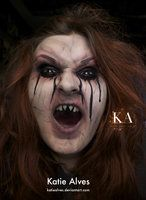 Evil Witch - Halloween Makeup with Tutorial by KatieAlves