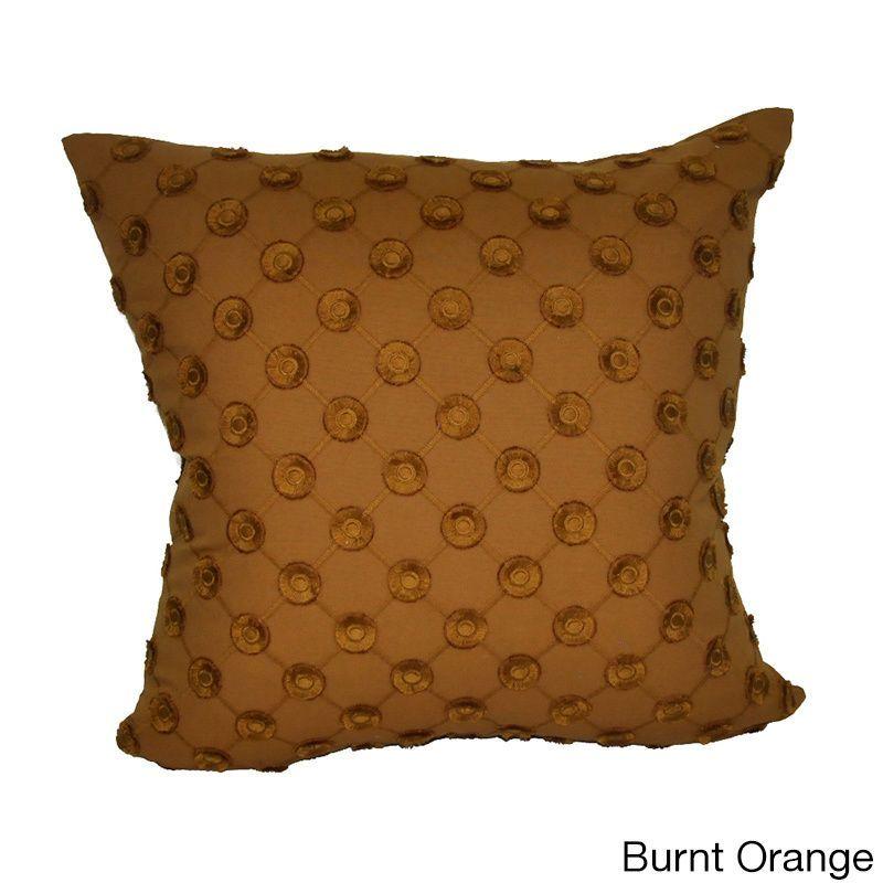 Loom And Mill 40x40 Polkadot Decorative Pillow Orange Size 40 X Stunning Loom And Mill Decorative Pillows