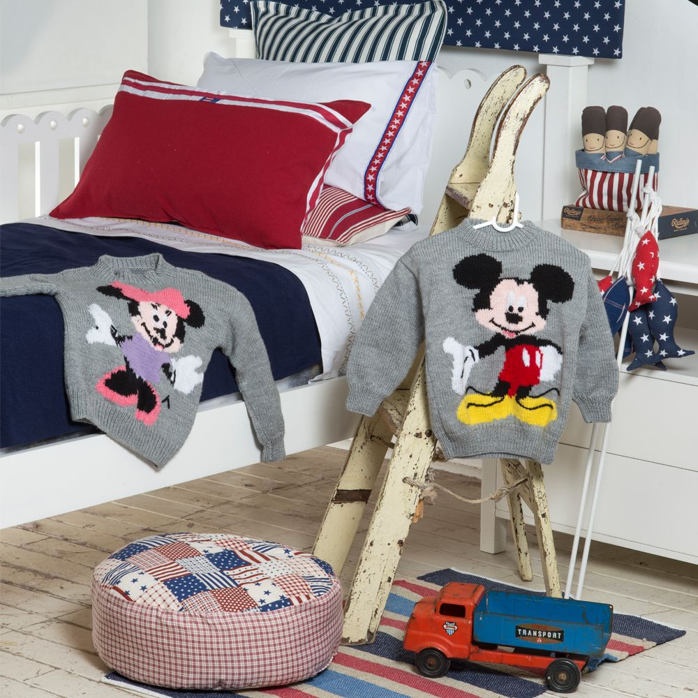 Mickey And Minnie Sweaters Tejidos Para Bebe Ropa Para Ninas