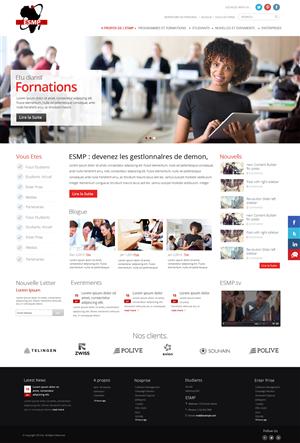 81 Modern Web Designs Small Business Web Design Project For A Business In Canada Web Design Small Business Web Design Modern Web Design