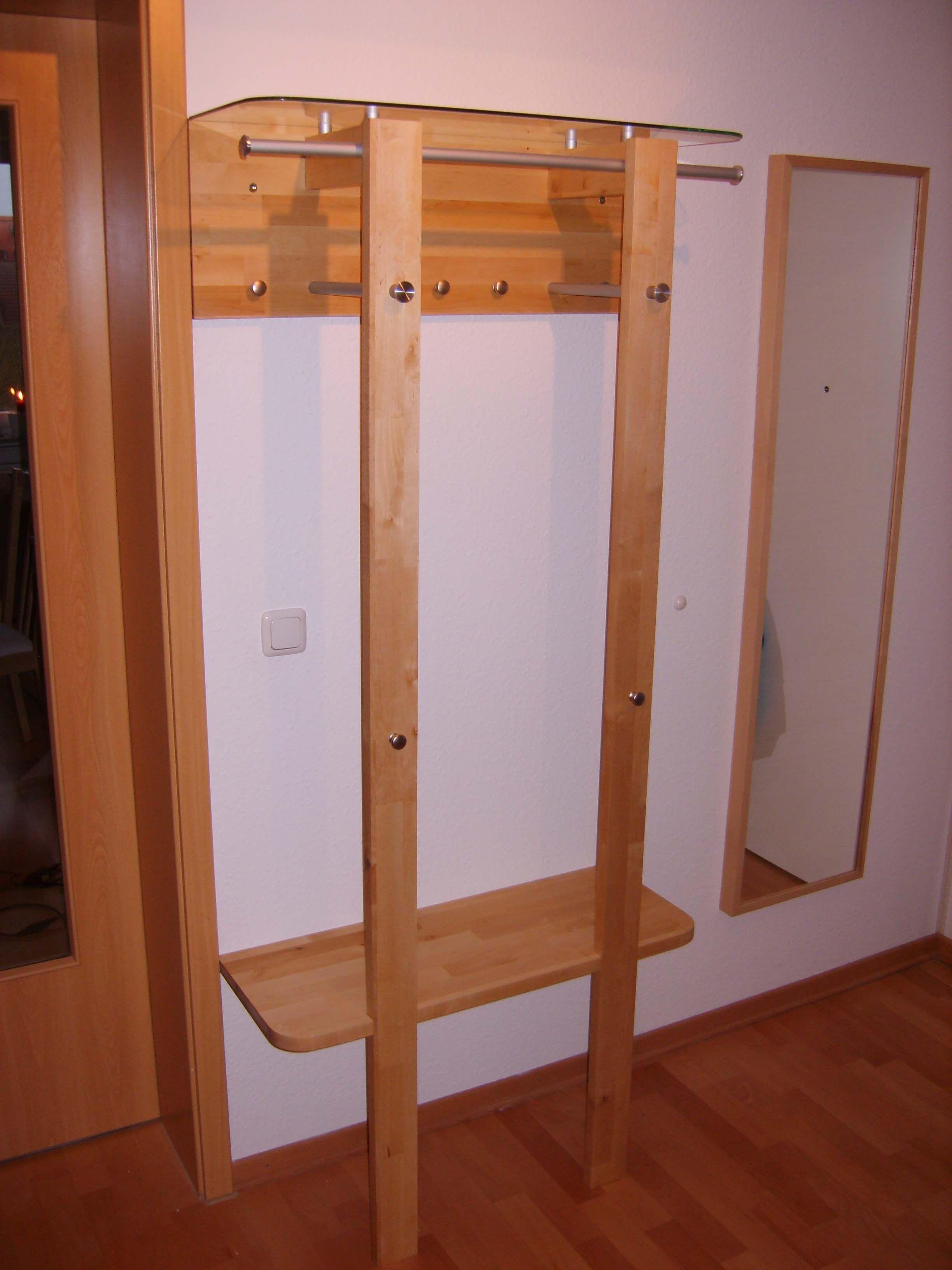 elegante garderobe bauanleitung zum selber bauen bank pinterest garderobe haus und m bel. Black Bedroom Furniture Sets. Home Design Ideas