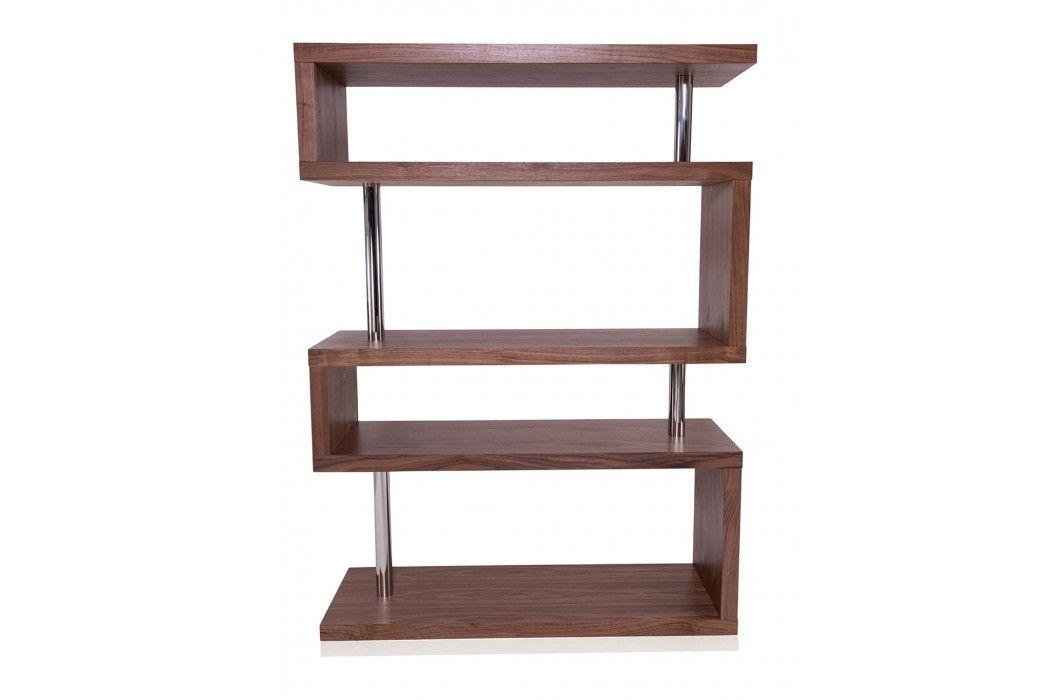 Edan Mid Century Modern Shelf Walnut