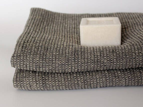 Linen Towels For Men Waffle Linen Travel Towels 100 Linen Etsy Linen Towels Hiking Towel Pure Linen