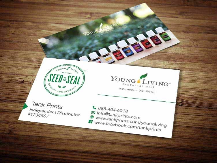 Young Living Business Card Design 5 Modified Tank Prints Young