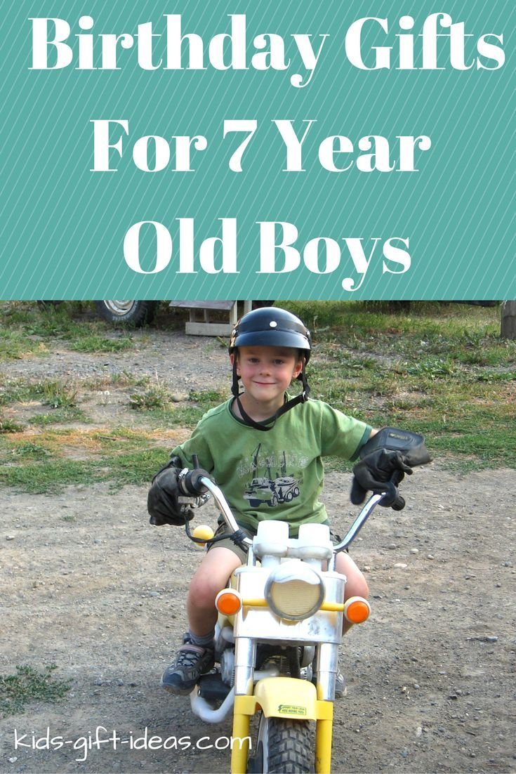 Awesome Birthday Gifts 7 Year Old Boys Will Really Want To Have Looking For Gift Ideas The Boy On Your List His