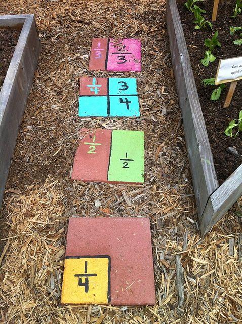 Math Garden School Garden Club School Garden Gardening For Kids