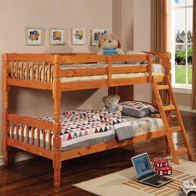 Coaster Fine Furniture 5040 Twin over Twin Bunk Bed home decor sale