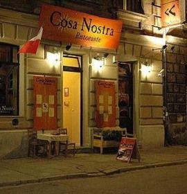 Restauracja Cosa Nostra W Krakowie Broadway Shows