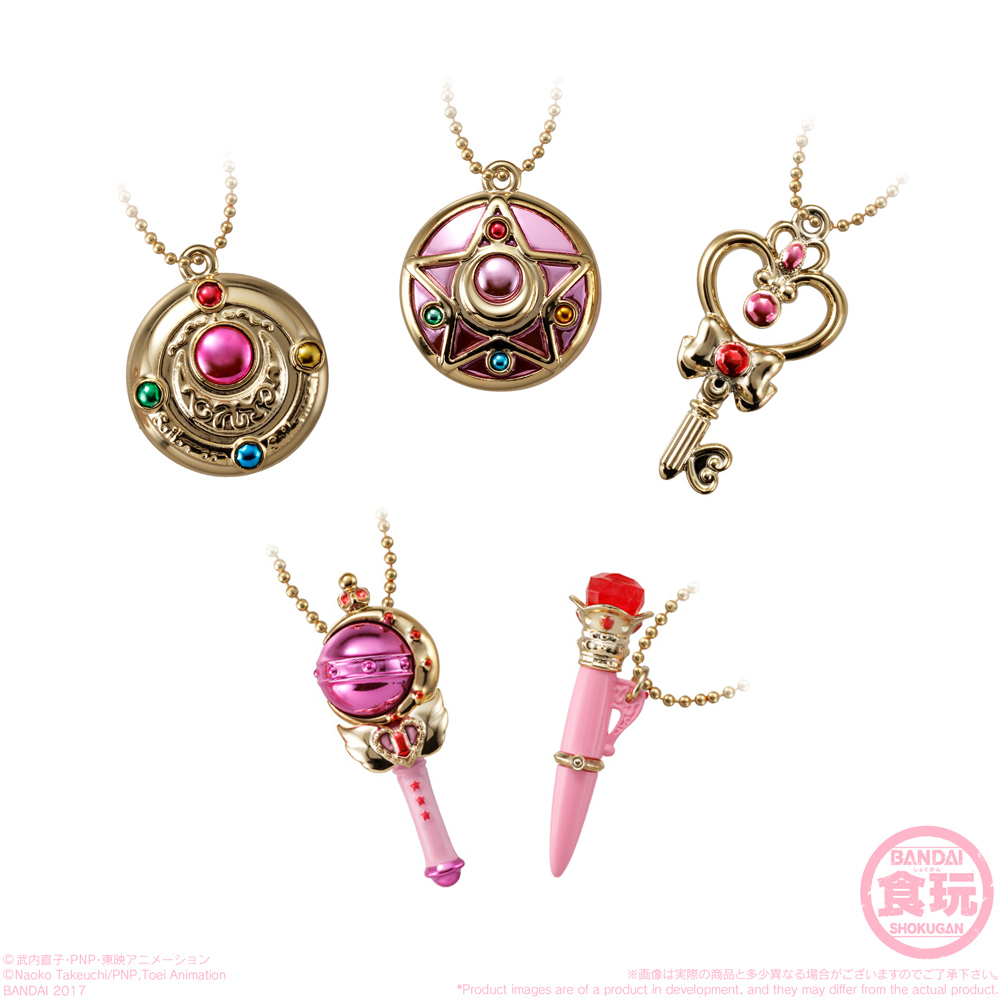 Sailor Moon Dicast Charm Makeover brooch