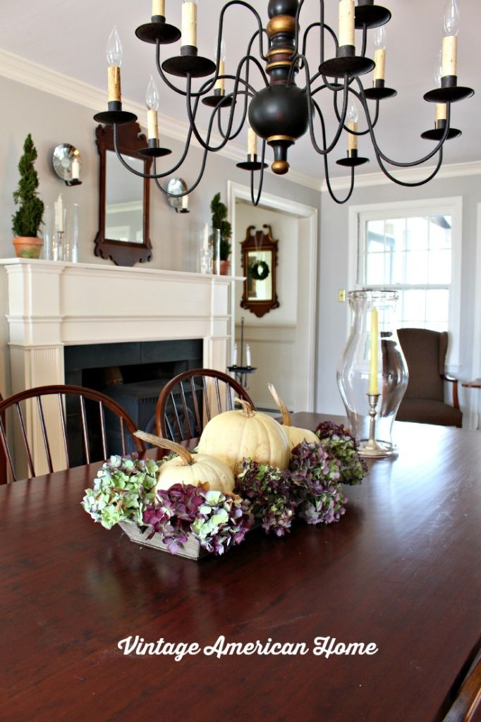 Paint Color For My Dining Room Vintage American Home Colonial Dining Room Dining Room Paint Dining Room Colors #primitive #paint #colors #for #living #room