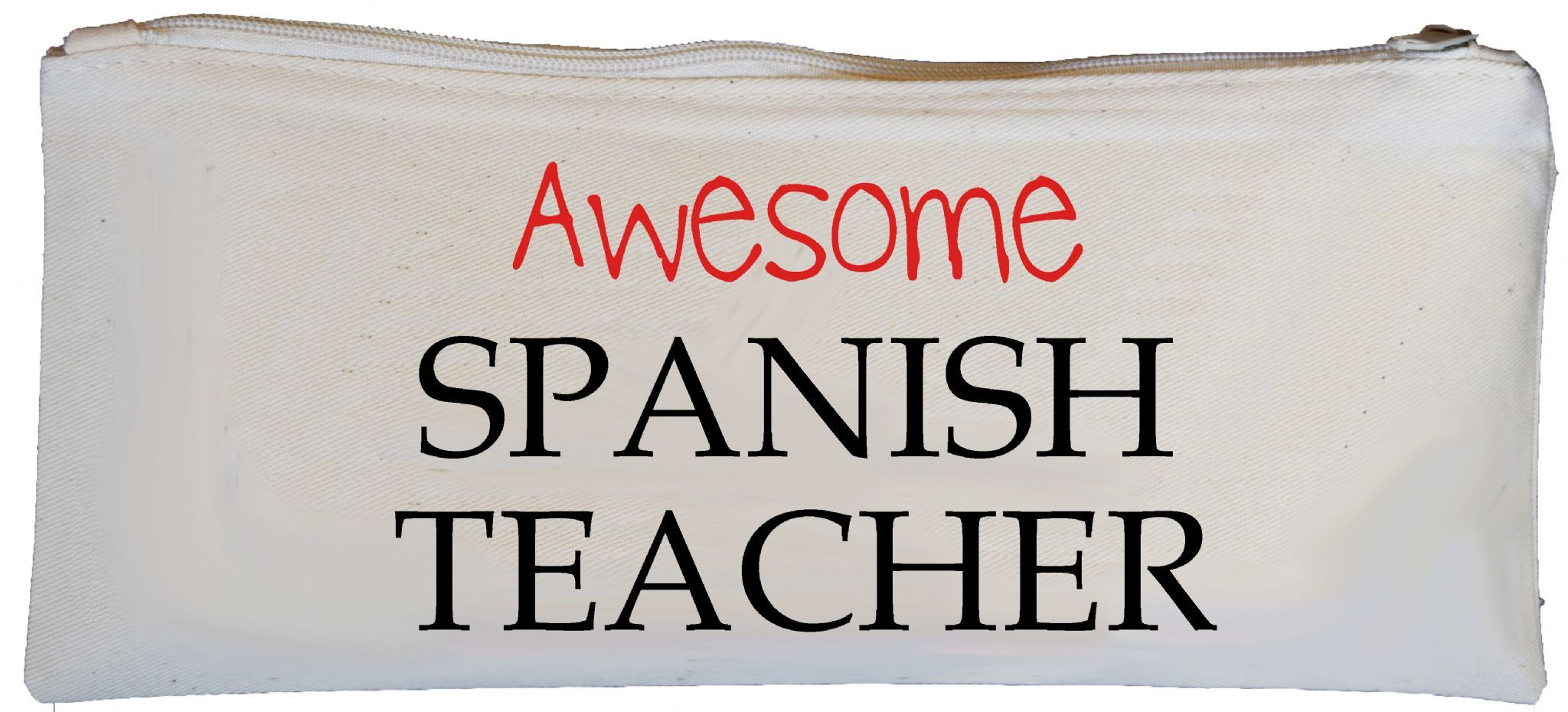 Awesome Spanish Teacher Pencil Case