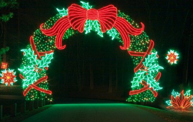 Callaway gardens mastering the nightscape fantasy in - Callaway gardens festival of lights ...