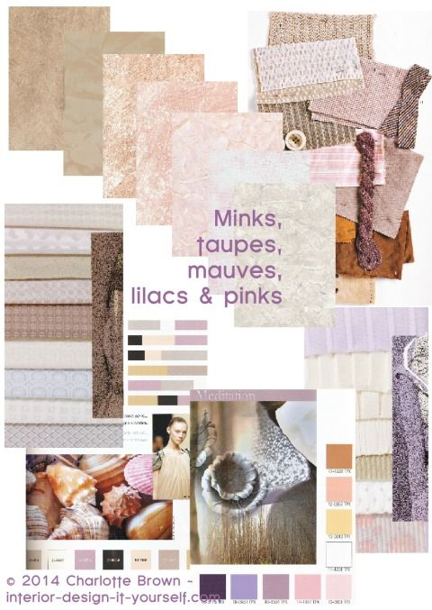 What Colors Go With Taupe & Mink? Really, helpful advice especially if you want to decorate around your brown lounge.