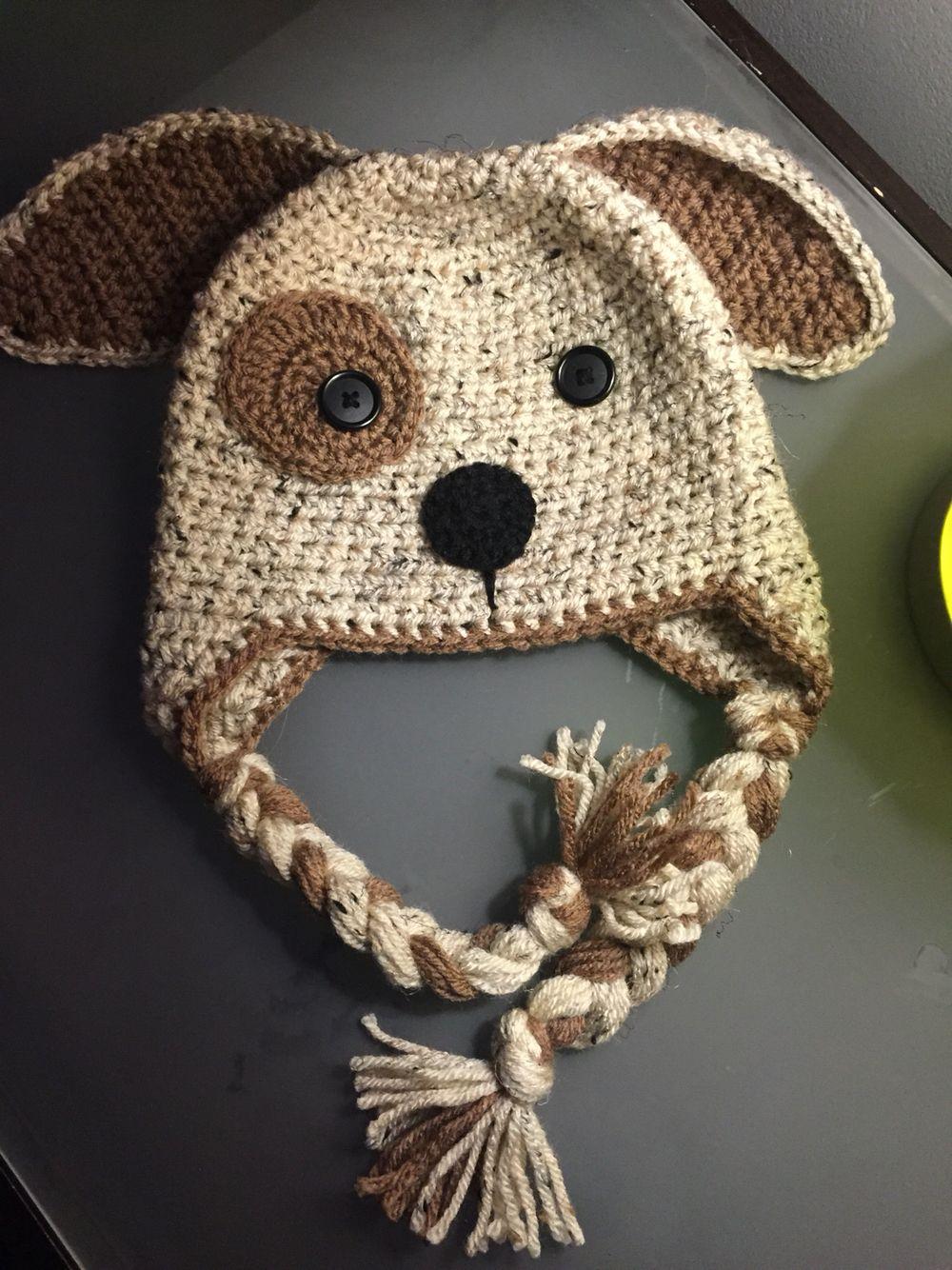 Cutest toddler dog hat ever!!