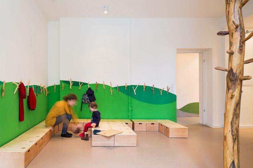 baukind / kita drachenhöhle - berlin | architecture - school, Schlafzimmer