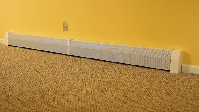 Spruce Up Old Baseboard Heaters With Stylish Diy Replacement Covers Baseboard Heater Baseboard Heater Covers Heater Cover