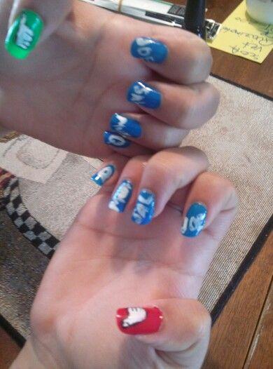 My impractical jokers nails!!