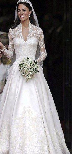 61 Trendy Wedding Dresses Vintage Sleeves Kate Middleton