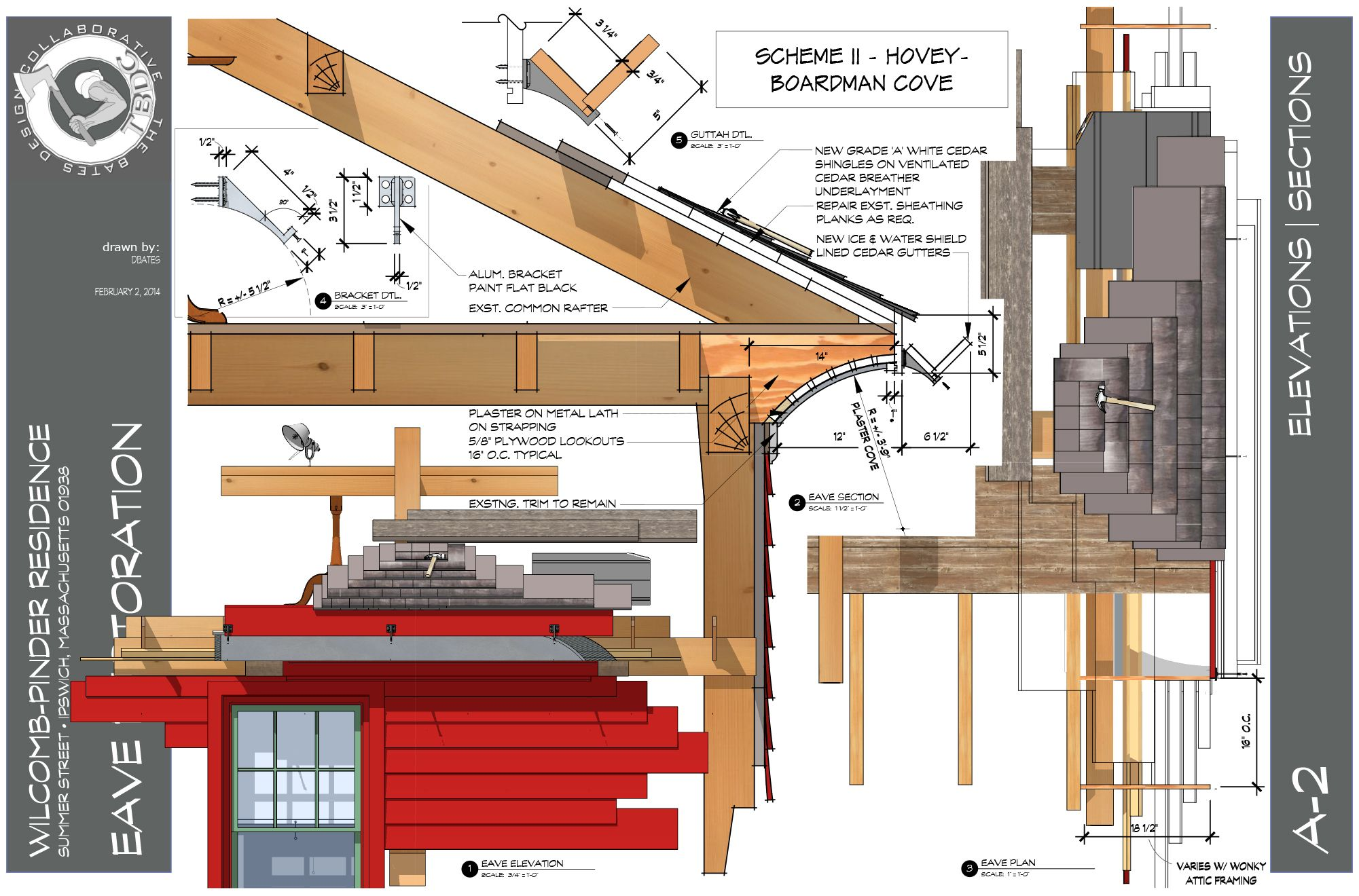 coved eave drawings tbdc sketchup layout models pinterest coved eave drawings tbdc sketchup layout