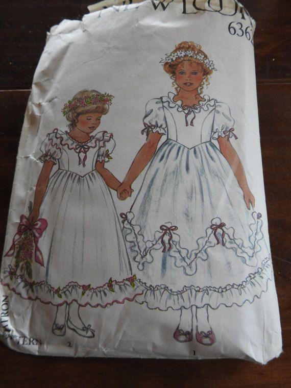 Sewing Flower Girl Dresses