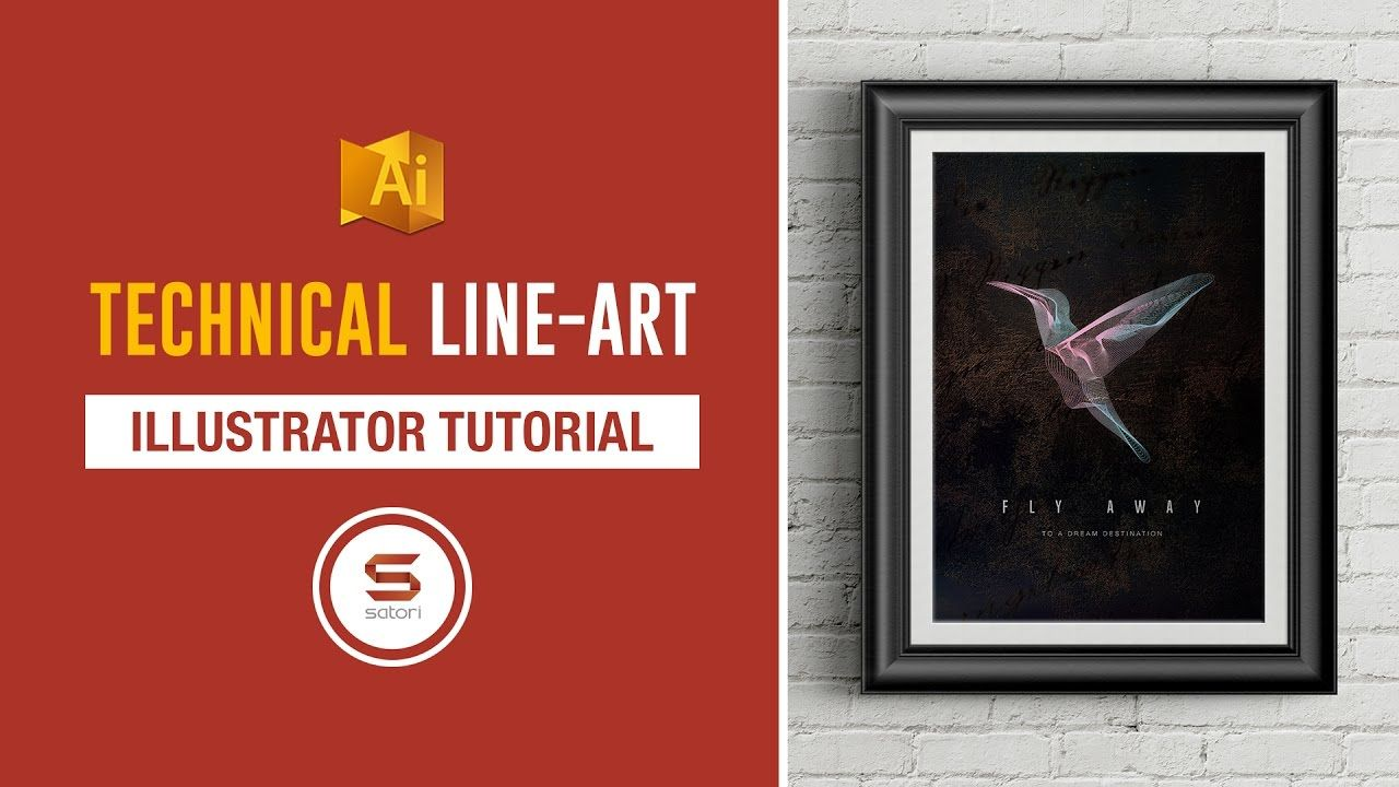 Line Art In After Effects : How to make amazing line art in illustrator the easy way